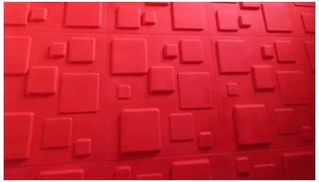 3D Wall PVC Digital
