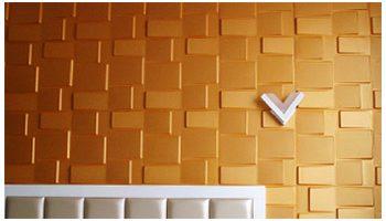 3D Wall PVC Overlap