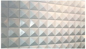 3D Wall PVC Pyramid 1