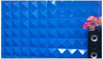 3D Wall PVC Pyramid 2